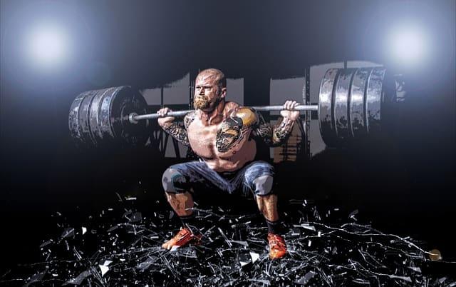 Těžké váhy jsou ideální pro nárůst testosteronu